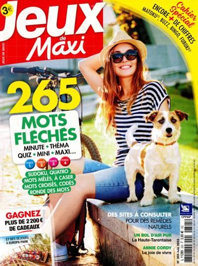Abonnement magazine Les jeux de Maxi