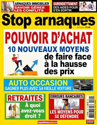 Abonnement magazine Stop Arnaques