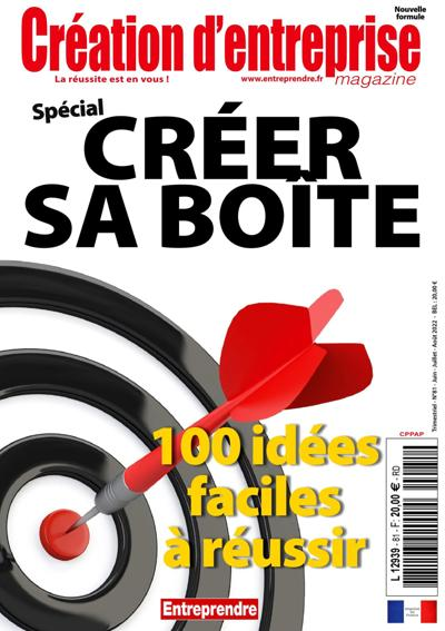 CREATION D'ENTREPRISE magazine