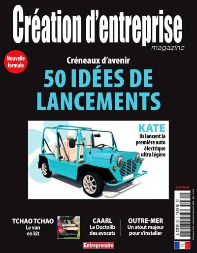 Création d'entreprise magazine (photo)