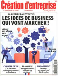 Création d'entreprise magazine N° 72