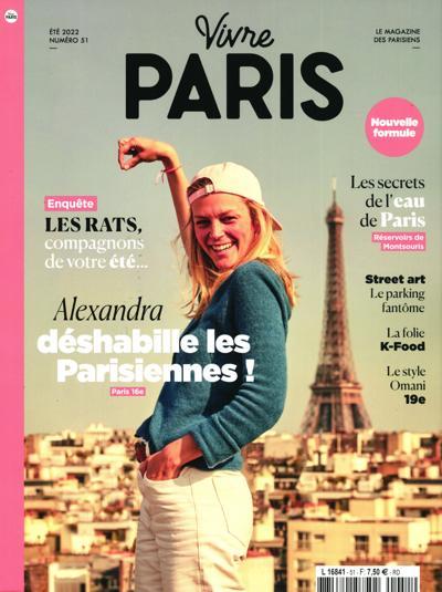 Abonnement Vivre Paris