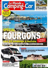 Le Monde du camping car N° 329