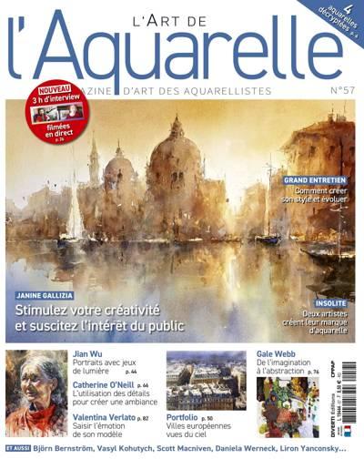L'Art de l'Aquarelle - N°43