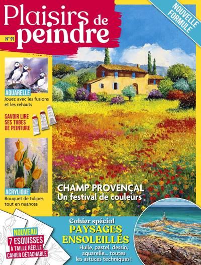 Abonnement magazine Plaisirs de peindre