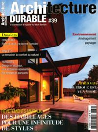 Architecture Durable N° 39