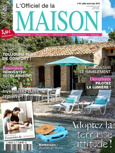 abonnement magazine l 39 officiel de la maison pas cher viapresse. Black Bedroom Furniture Sets. Home Design Ideas