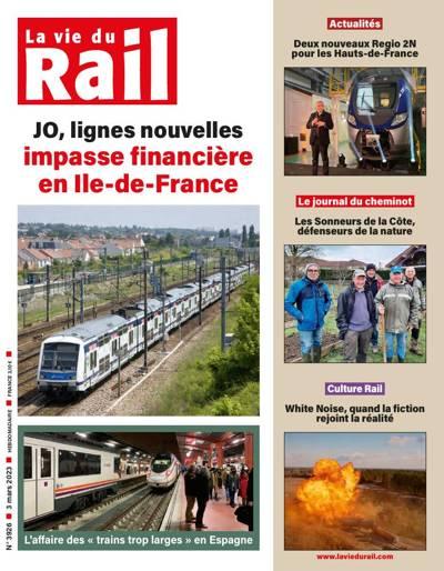 Abonnement magazine La Vie du Rail Magazine