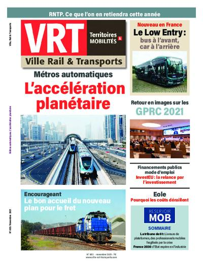 Abonnement magazine Ville Rail et Transport