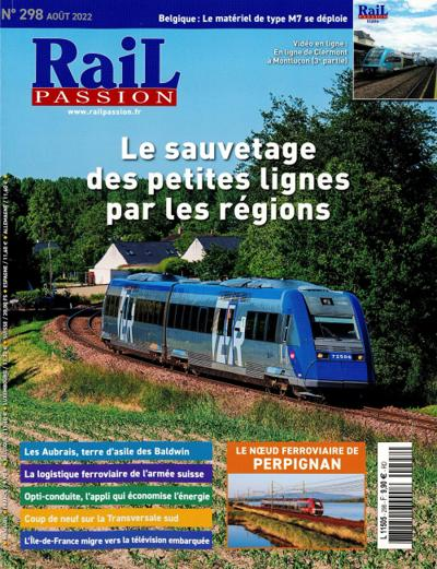 Abonnement magazine Rail Passion