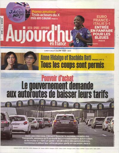 Abonnement magazine Aujourd'hui en France