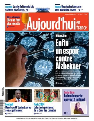 Aujourd'hui en France - N°201026