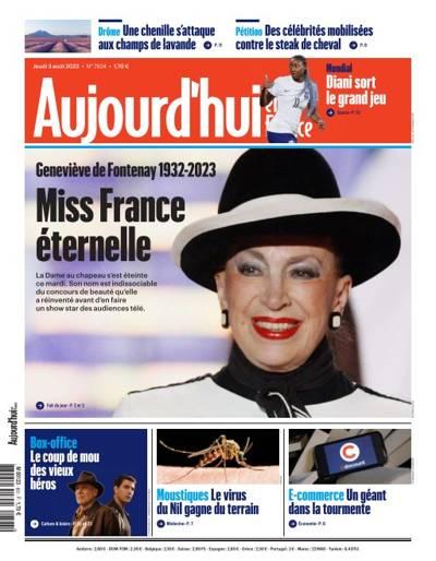 Aujourd'hui en France (photo)