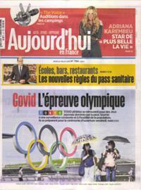 Aujourd'hui en France N° 210722