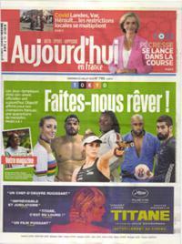 Aujourd'hui en France N° 210723