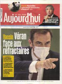 Aujourd'hui en France N° 210724