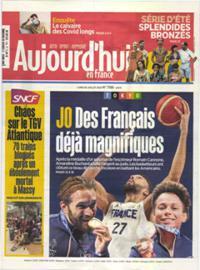 Aujourd'hui en France N° 210726