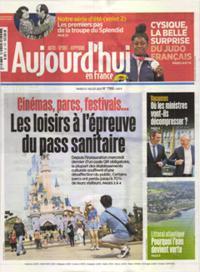 Aujourd'hui en France N° 210727