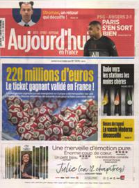 Aujourd'hui en France N° 211016