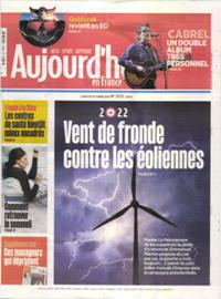 Aujourd'hui en France N° 211018