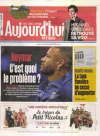 Aujourd'hui en France N° 211019