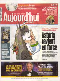Aujourd'hui en France N° 211021