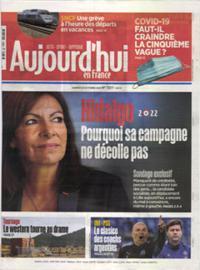 Aujourd'hui en France N° 211023