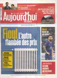 Aujourd'hui en France N° 211026