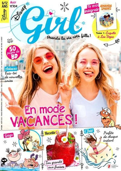 Abonnement magazine Disney Girl