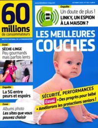 60 Millions de consommateurs N° 562