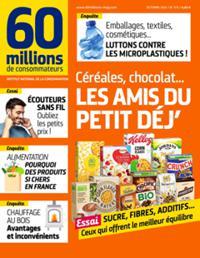 60 Millions de consommateurs N° 573