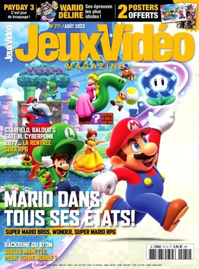 Abonnement Jeux Vidéo Magazine