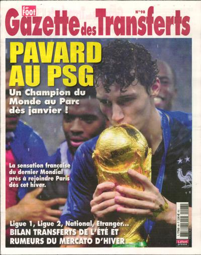 Le foot gazette des transferts - N°110