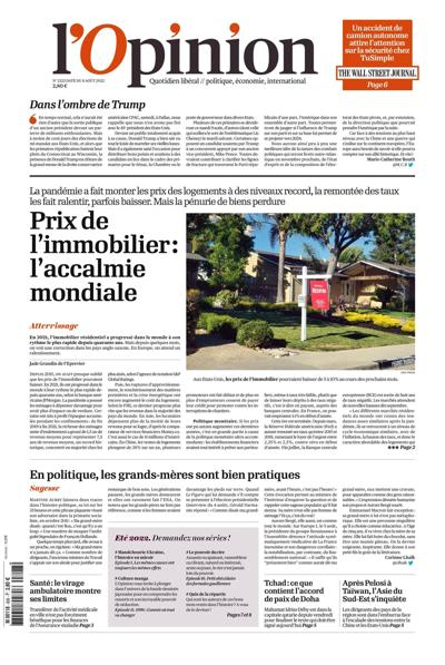Abonnement magazine L'Opinion