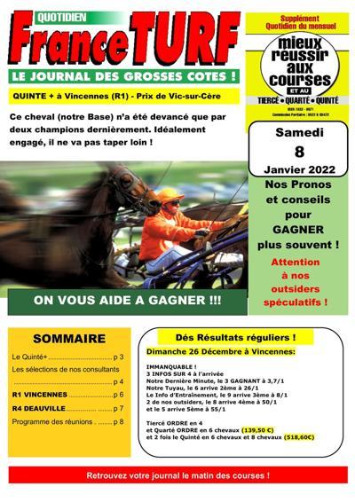 Abonnement France Turf