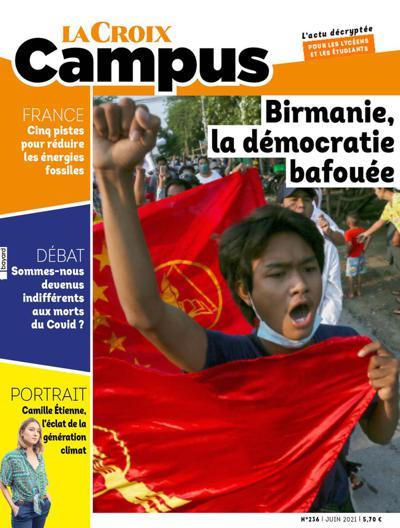 Abonnement magazine La Croix Campus