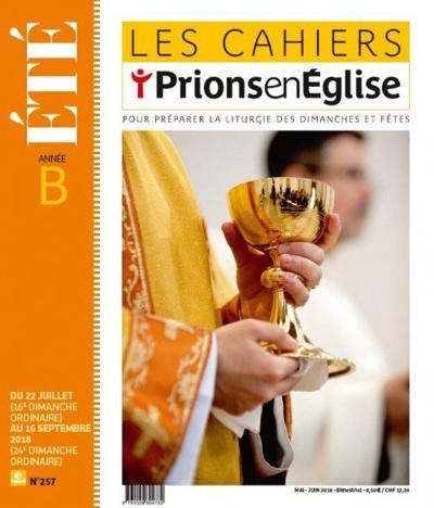 Les Cahiers Prions en Eglise (photo)