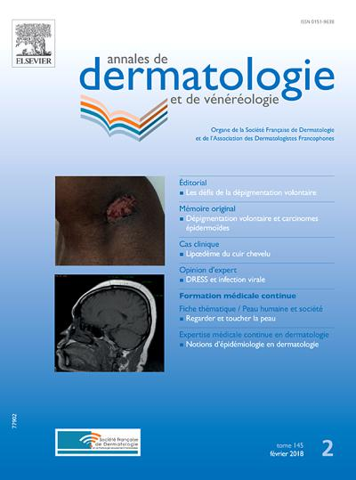Annales De Dermatologie (photo)