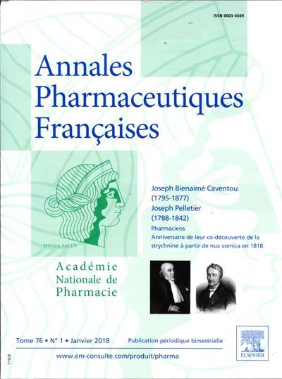 Annales Pharmaceutiques Françaises (photo)