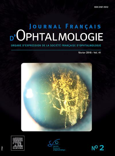 Journal Français D'Ophtalmologie (photo)