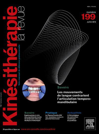 Abonnement magazine Kinésithérapie, La Revue
