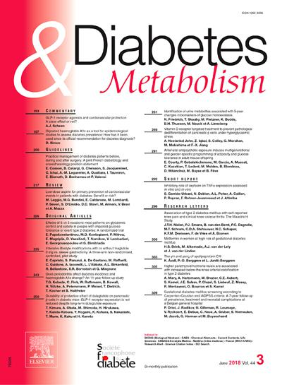 Diabetes et Metabolism (photo)