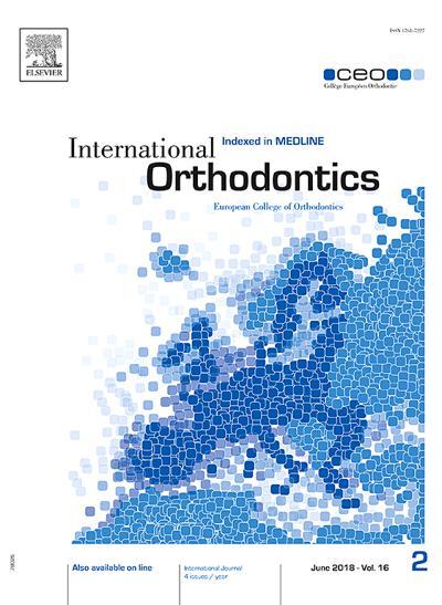 International Orthondontics - N°201910
