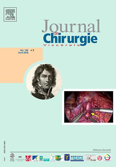 Journal De Chirurgie Viscerale - N°202005