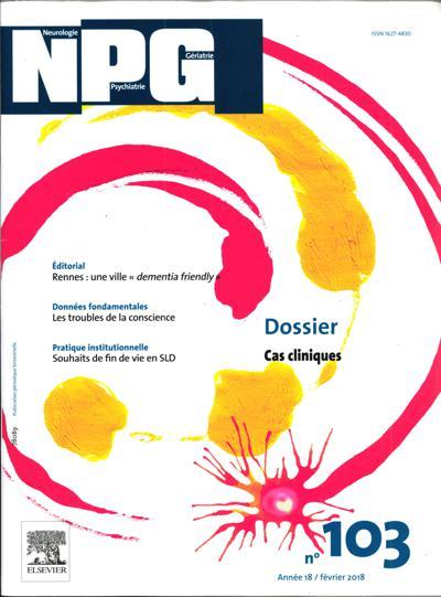 Abonnement Npg-Neurologie Psychiatrie Gerontologie