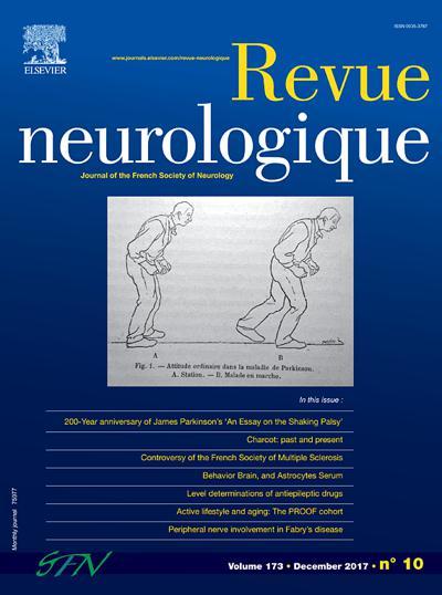 Revue Neurologique - N°201906