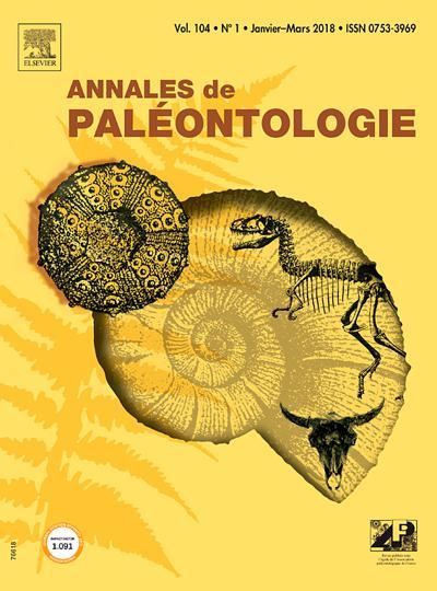 Annales De Paleontologie - N°201903