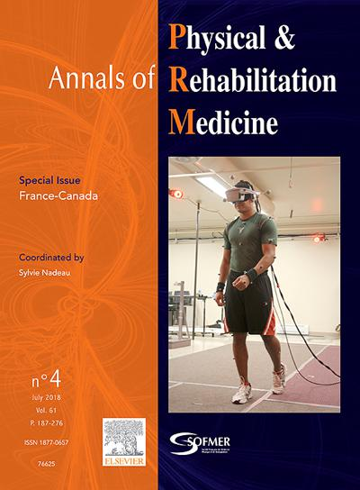 Annals Of Physical And Rehabilitation Medicine - N°629