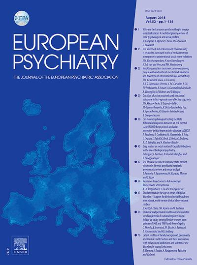 European Psychiatry - N°201908