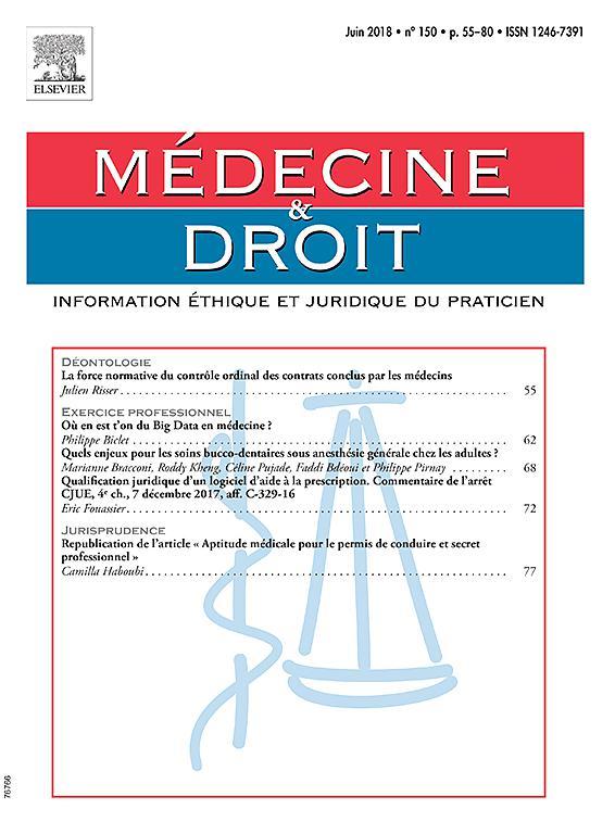 Médecine et Droit